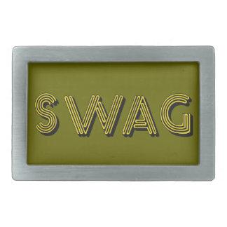 SWAG custom belt buckle