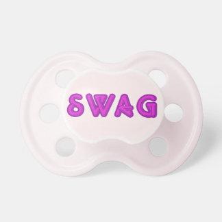 SWAG custom pacifier
