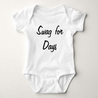 Swag for days baby bodysuit