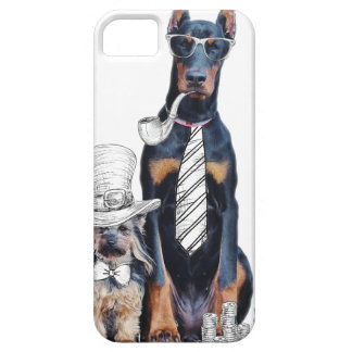 Swag Funny Party Dog Style Glasses iPhone 5 Cover