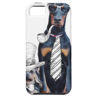 Swag Funny Party Dog Style Glasses iPhone 5 Covers