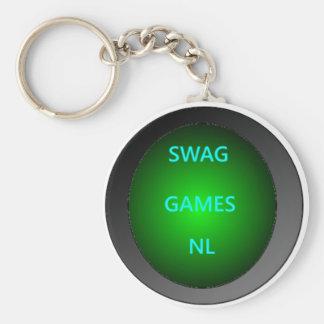 Swag Games Netherlands key-ring Basic Round Button Key Ring