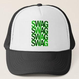Swag - Green Trucker Hat