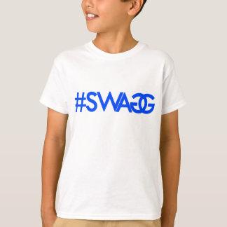 Swag Hashtag (Blue) T-shirts