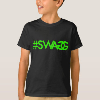 Swag Hashtag (Green) Shirt