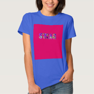 SWAG in Bright Colors T Shirt