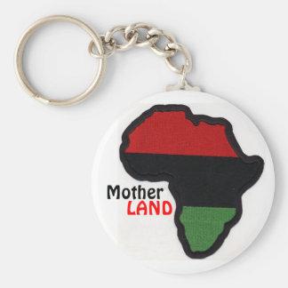 "Swag Nation ""MotherLAND Key Chain"" Basic Round Button Key Ring"
