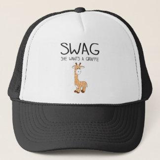 SWAG She Wants A Giraffe Cap