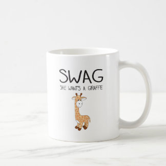 SWAG She Wants A Giraffe Mug