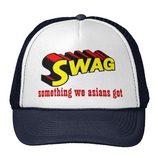 SWAG:  something we asians got Cap