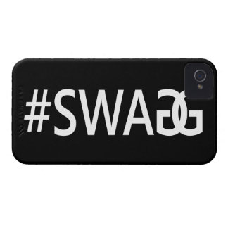 #SWAG / SWAGG Funny & Cool Quotes, Trendy Hash Tag Case-Mate iPhone 4 Cases