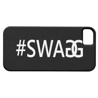 #SWAG / SWAGG Funny, Trendy, Cool Internet Quote iPhone 5 Cases