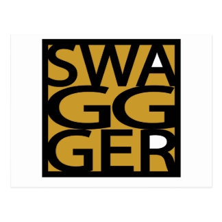 Swag, Swagger, GG Post Card