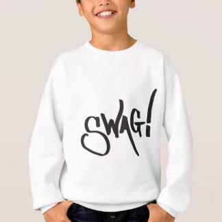 Swag Tag - Black Sweatshirt