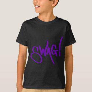 Swag Tag - Purple T-Shirt
