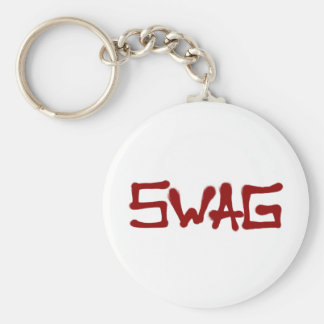Swag Tag - Red Key Chains