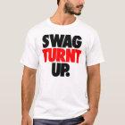 Swag Turnt Up by: Trenz Unltd. White Tee