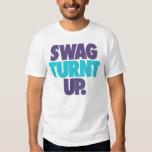 Swag Turnt Up by: Trenz Unltd. White Tee (Hornets)