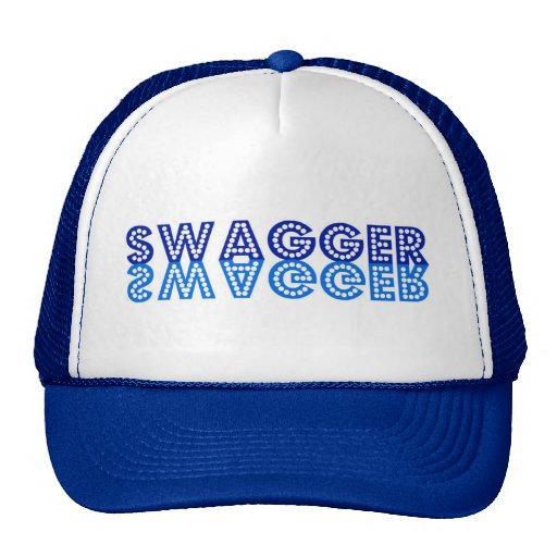 Swagger in Blue Cap