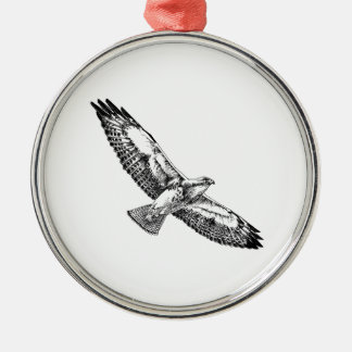 Swainson's Hawk (in flight) Christmas Ornament
