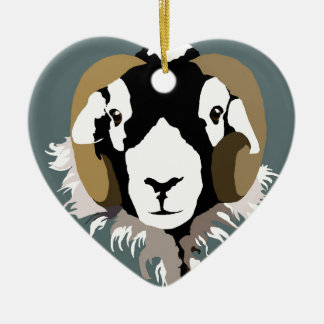 Swaledale Sheep Christmas Ornament