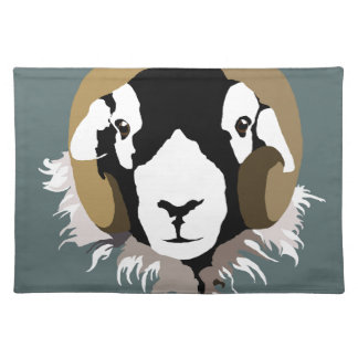 Swaledale Sheep Placemat