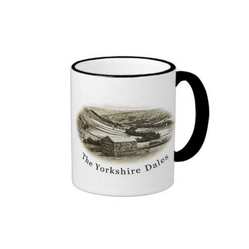 Swaledale, Yorkshire Dales Ringer Mug