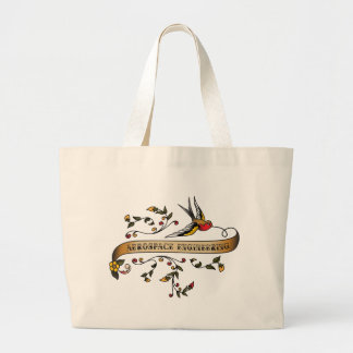 Swallow and Scroll with Aerospace Engineering Bag