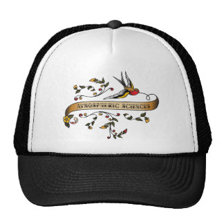 Swallow and Scroll with Atmospheric Sciences Trucker Hat