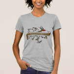 Swallow and Scroll with Occupational Therapy Tee Shirts