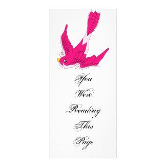 Swallow Bookmark Template Full Color Rack Card