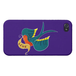 Swallow in Love iPhone 4/4S Case