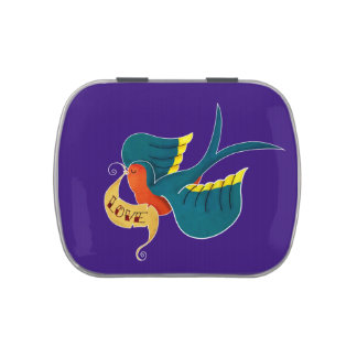 Swallow in Love Jelly Belly Tin