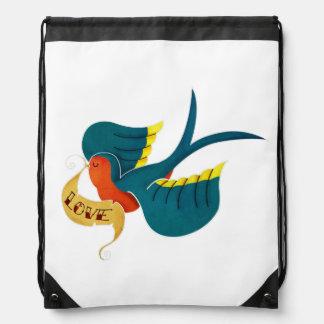Swallow in Love Rucksacks