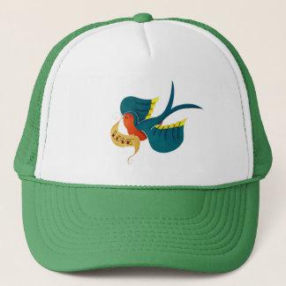 Swallow in Love Trucker Hat