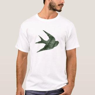 Swallow (Letterpress Style) T-Shirt