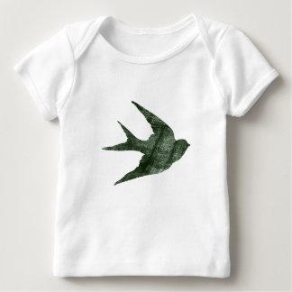 Swallow (Letterpress Style) Tshirts