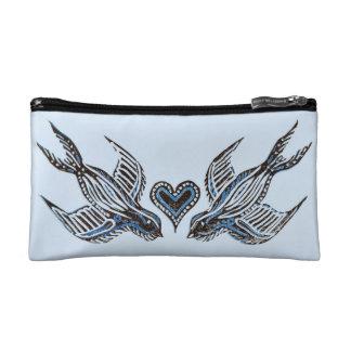 Swallow love makeup bags