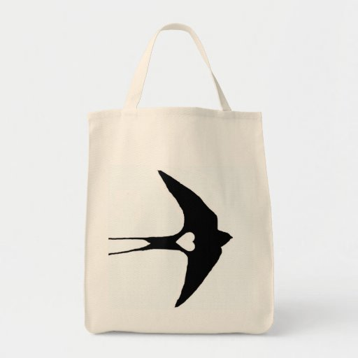 Swallow My Heart Canvas Bag
