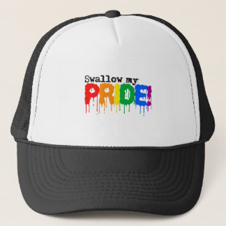 Swallow my pride trucker hat