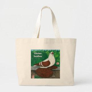 Swallow Pigeon:  Silesian Jumbo Tote Bag