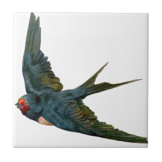 Swallow Small Square Tile