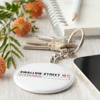Swallow Street London Street Sign Keychains