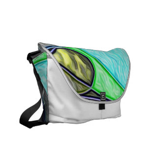 Swallowed,abstract Messenger Bag