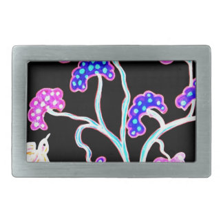 Swallows-and-fruit-tree-Happy-Birthday Belt Buckle