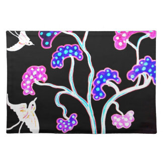 Swallows-and-fruit-tree-Happy-Birthday Placemat