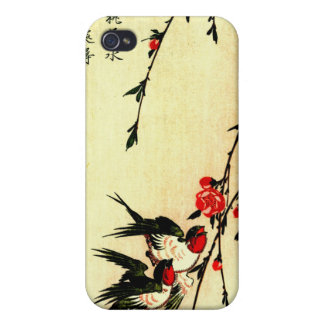 Swallows and Peach Blossoms Under the Full Moon 18 iPhone 4/4S Case