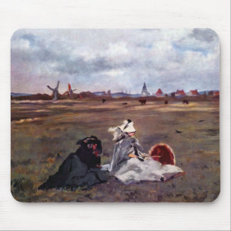 Swallows by Edouard Manet Mouse Pad