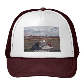Swallows By Manet Edouard Trucker Hat