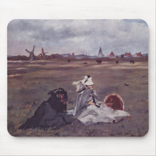 Swallows - Edouard Manet Mouse Pad